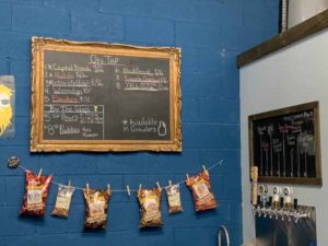 Taproom Beer Menu - Forked River Brewery